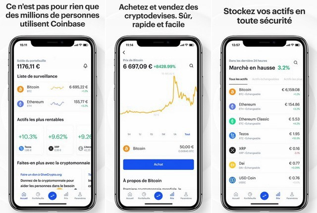 Coinbase - best cryptocurrency app