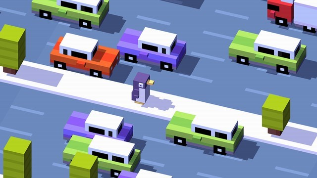 Crossy Road - jeu iPhone les plus addictifs