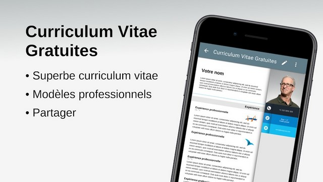 Free Curriculum Vitae - Android application to write a CV