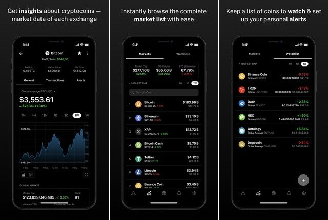 Delta - best cryptocurrency app
