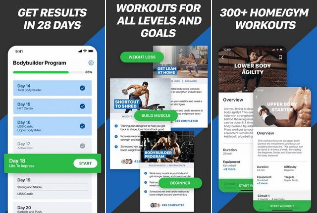 Fitness Amis - best bodybuilding app