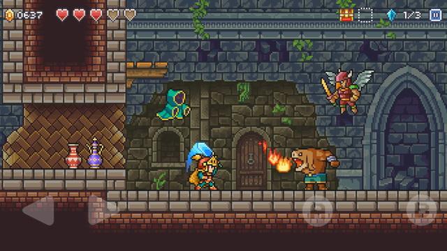 Goblin Sword - platform game