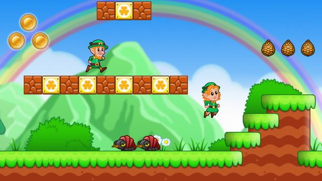Lep's World - jeu de plateforme