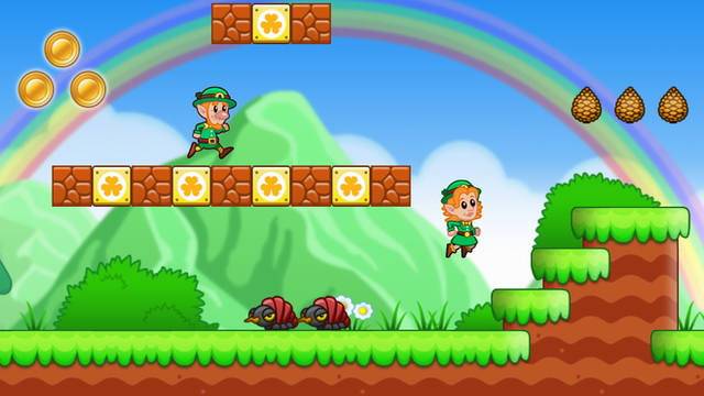 Lep's World - platform game