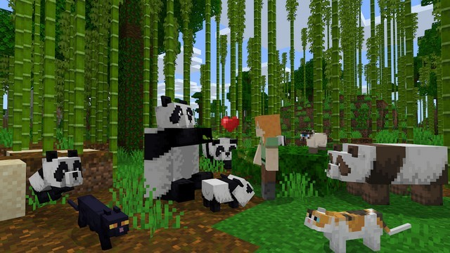 Minecraft - jeu iPhone les plus addictifs