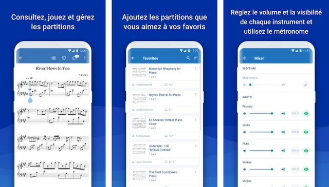 MuseScore - application Android pour les musiciens