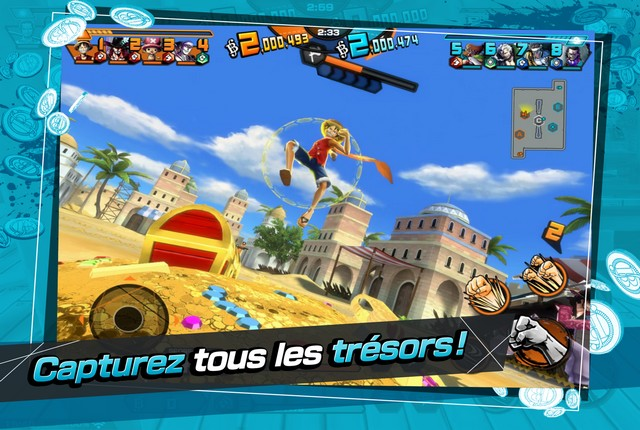 One Piece Bounty Rush - jeux d'anime