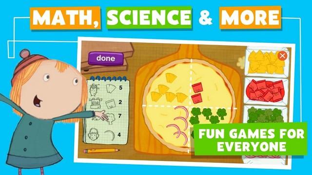 PBS KIDS Games - jeu Android pour enfants