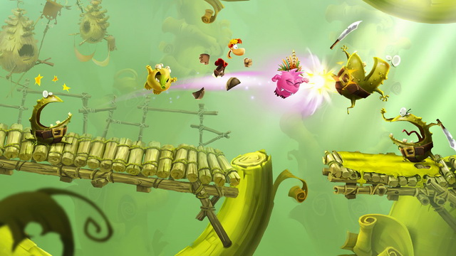 Rayman Adventures - platform game