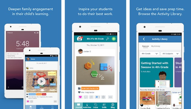Seesaw Class - Android app for teachers