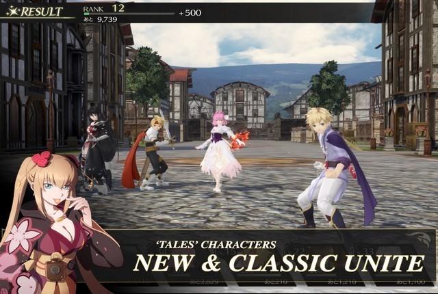 Tales of Crestoria - jeux d'anime