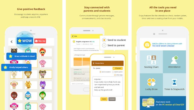 Teacher Class123 - application Android pour les enseignants