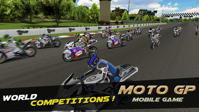 Thrilling Motogp Racing 3D