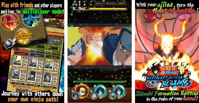 Ultimate Ninja Blazing - meilleur jeu anime