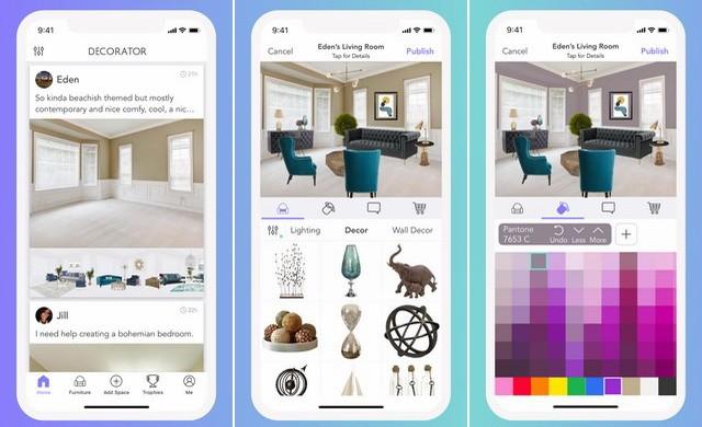 Decorator - meilleure application de design intérieur
