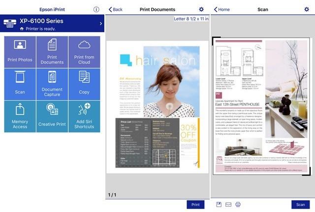 Epson iPrint - meilleure application impression