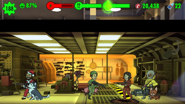 Fallout Shelter - city building game