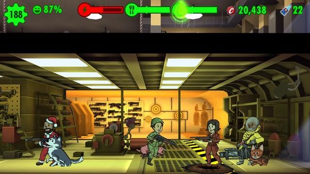 Fallout Shelter - jeu de simulation de vie