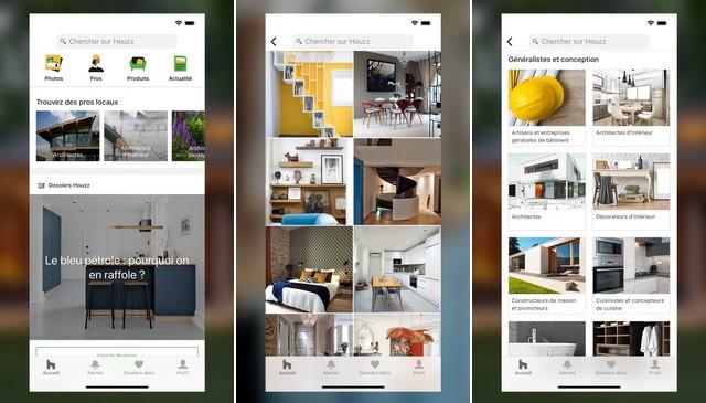 Houzz - meilleure application de design intérieur