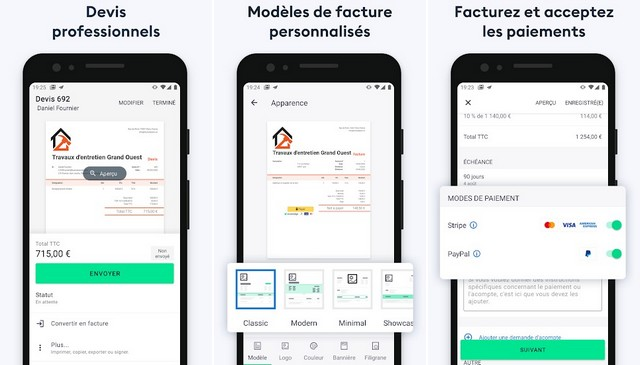 Invoice 2go - meilleure application de facturation