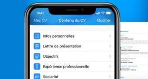 Les meilleures applications de création de CV sur iPhone