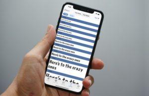 Les meilleures applications de polices d'écriture pour iPhone