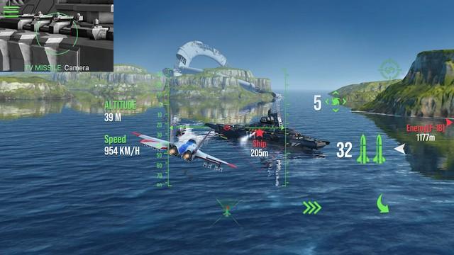 Modern Warplanes - meilleur jeu de simulation de vol