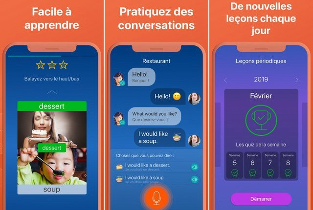 Mondly - apps for learning Spanish