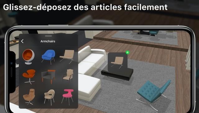 Planner 5D - meilleure application de design intérieur