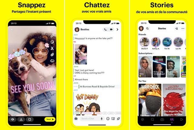 Snapchat - best alternative to Instagram