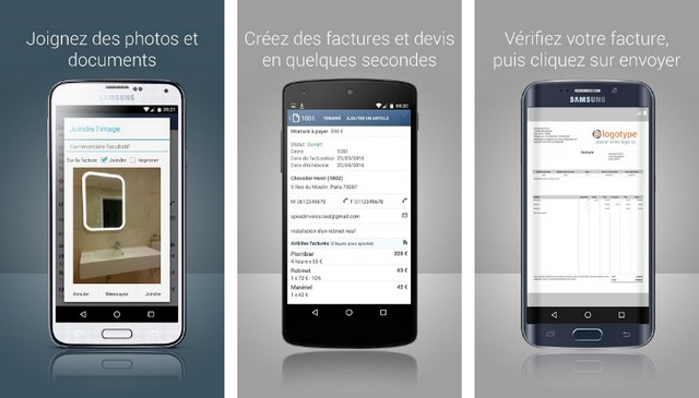 SpeedInvoice - meilleure application de facturation