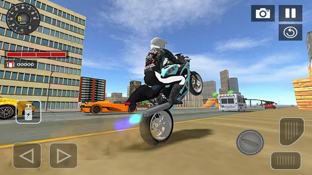 Sport bike simulator 3D Drift