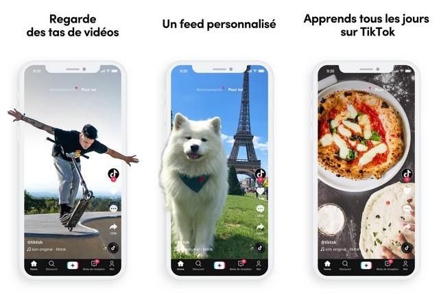 TikTok - best alternative to Snapchat