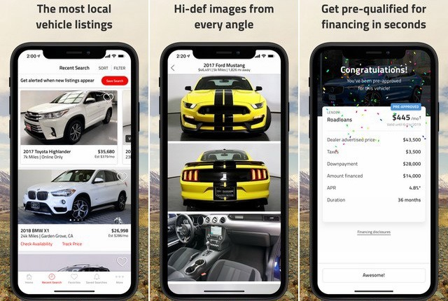 Autolist - car buying apps