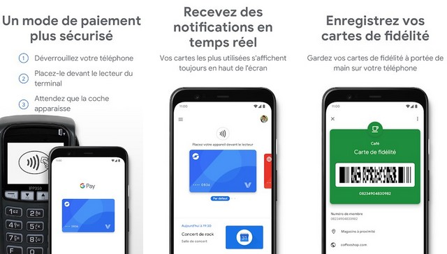Google Pay - meilleures applications de transfert d'argent
