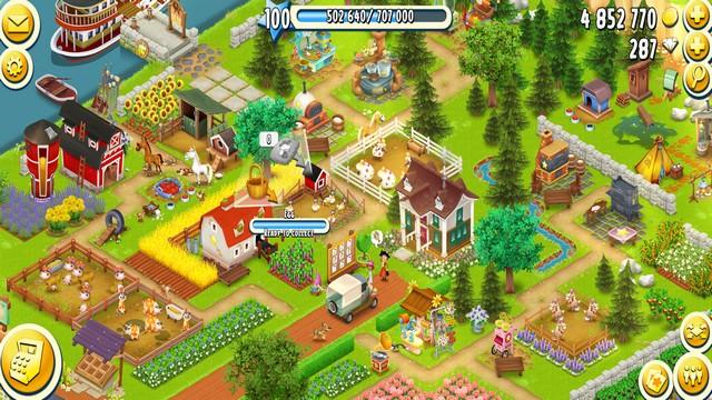 Hay Day - meilleur jeu de ferme