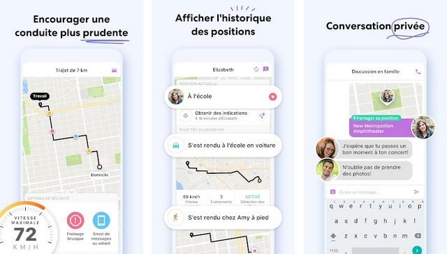 Life360 - application de partage de position