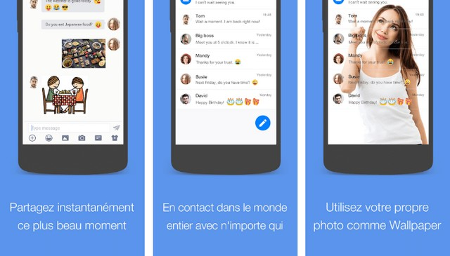 Messager pour SMS
