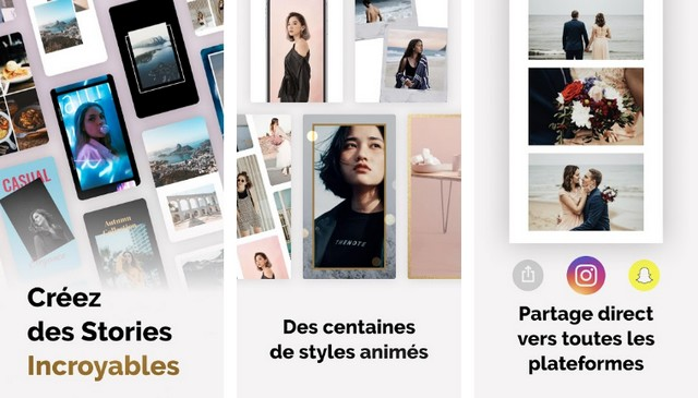 Mojo - application pour créer des Stories Instagram