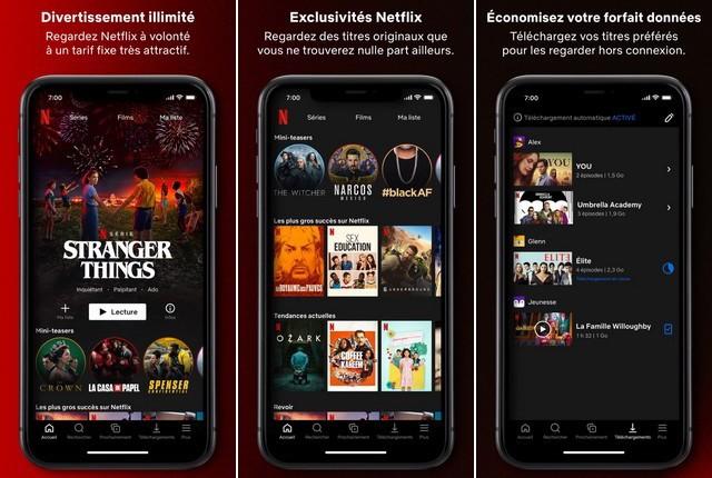 Netflix - meilleure application Halloween