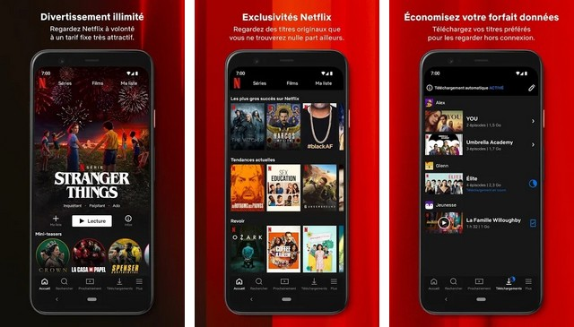 Netflix - meilleures applications Halloween