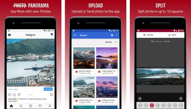 PanoraSplit - best panorama app