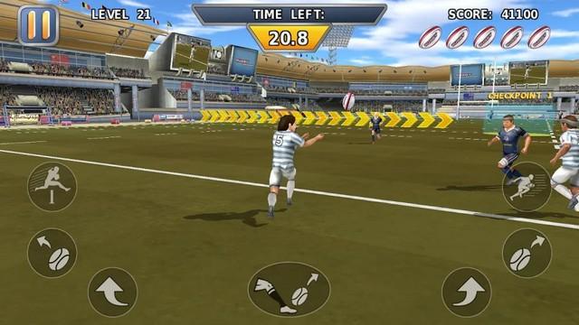 Rugby Hard Runner
