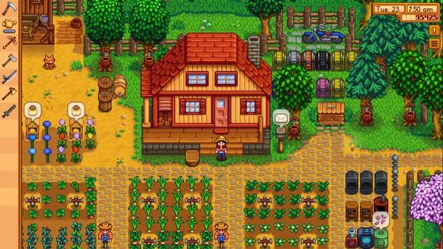 Stardew Valley - best farm game