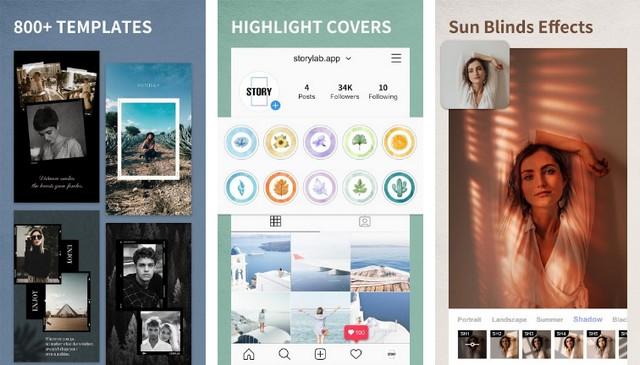 StoryLab - app to create Instagram Stories