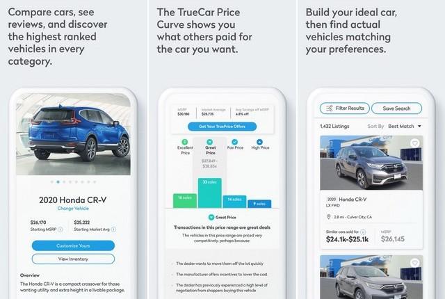 TrueCar - car buying apps