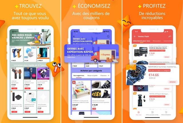 AliExpress - applications achat en ligne