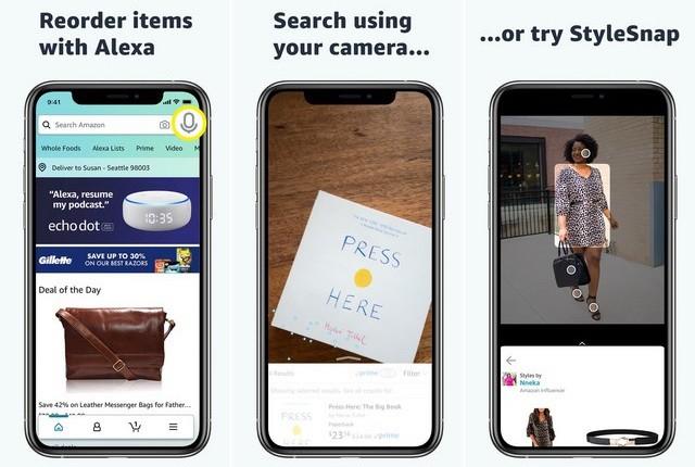 Amazon Shopping - applications achat en ligne