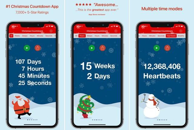 Christmas Countdown! - meilleure application de Noël