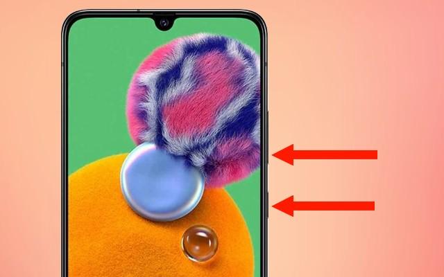 Comment faire une capture d'écran sur Galaxy A90